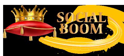 Social Boom LogoG